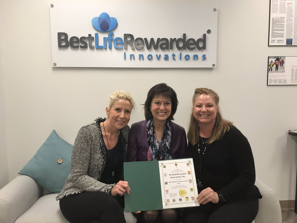 BestLifeRewarded Innovations talks Canadian Health and Wellness with MP Pam Damoff